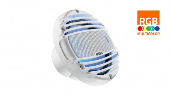 "Hertz Marine Audio HMX 8"" RGB LED Lautsprecher Weiß"