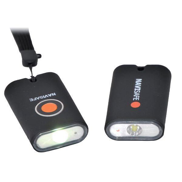 Mini Taschenlampe NAVILIGHT mit weiß und rotem Licht