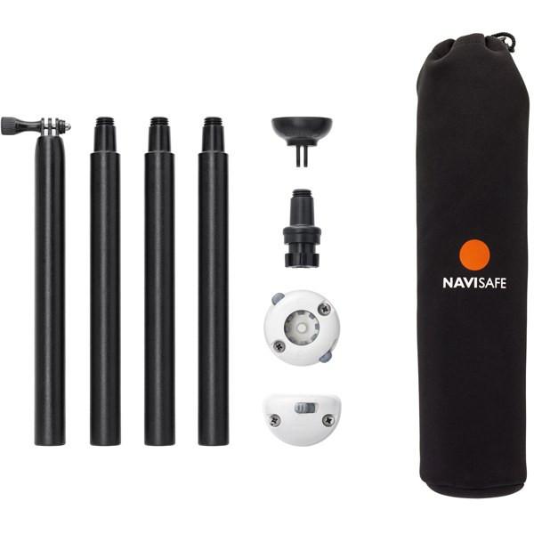 NAVILIGHT Stangenset in NEOPREN Tasche mit Magnet,Railblaza und Beschlag