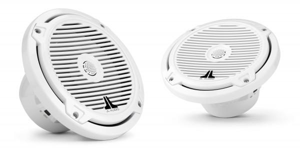 "JL Audio Marine MX 7.7"" (196 mm) Coaxial Speaker System w/ White Classic Grills"