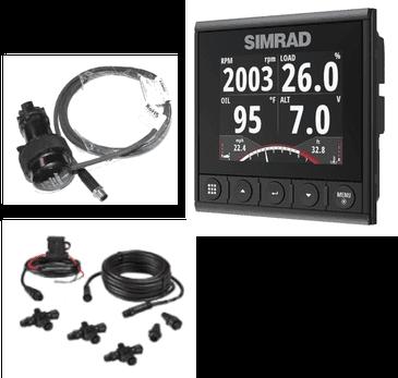 Simrad IS42 Display Instrument inkl. Speed/Depth pack