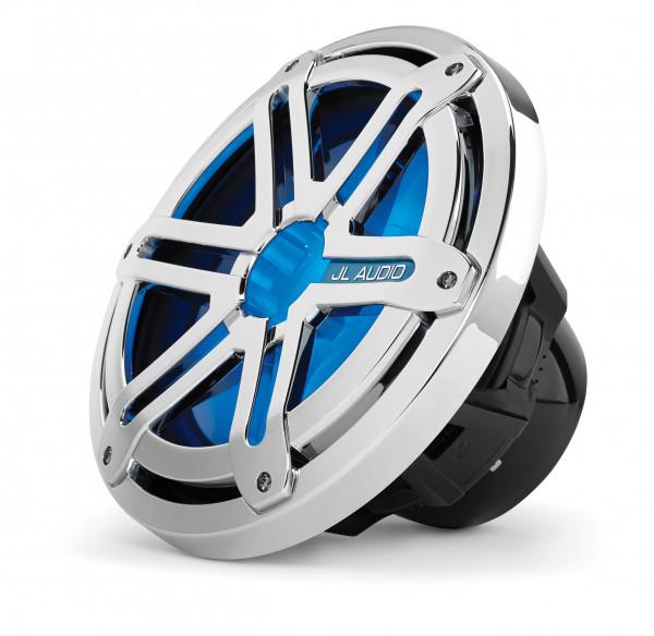 "JL Audio Marine MX 10"" dia. Infinite Baffle Subwoofer w/ LED Chrome Sport Grill 175W"