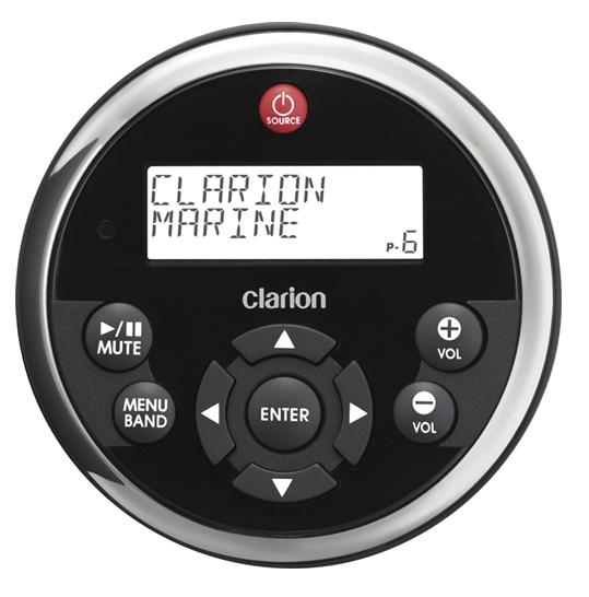Clarion Marine MW1 Remote Bedienung für CMV1, CMD6 und M309