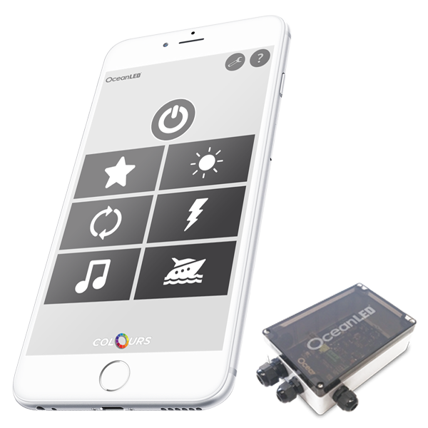 Ocean LED DMX Pro Series APP Controller Kit (1-4 Leuchten - FREE App Download für iOS / Android)