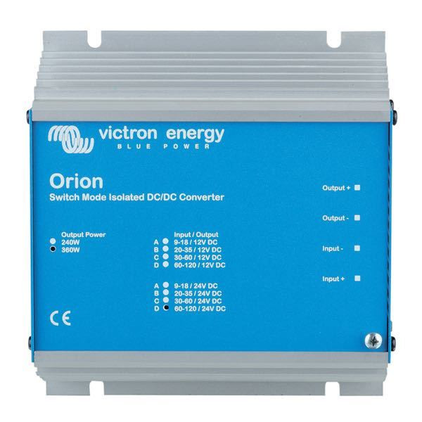 Victron orion galvanisk omformer 12 - 12v - 100watt
