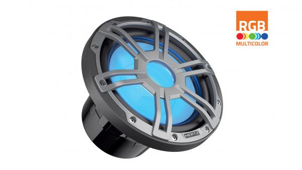 """Hertz Marine Audio 10"""" RGB LED Subwoofer Sport Schwarz"""