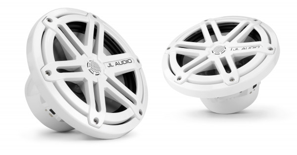 "JL Audio Marine MX 7.7"" (196 mm) Coaxial Speaker System w/ White Sport Grills"