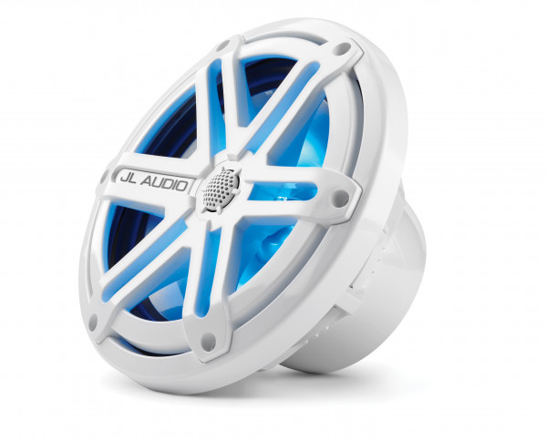 "JL Audio Marine MX Oversize 6.5"" (165 mm) Coaxial Speakers w/ LED White Sport Grills"