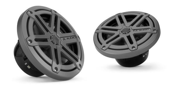 """JL Audio Marine MX 6.5"""" (165 mm) Coaxial Speaker System w/ Black Sport Grills"""