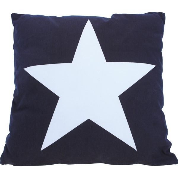 1852 Marine Quality Lieblings-Kissen Stern Blau
