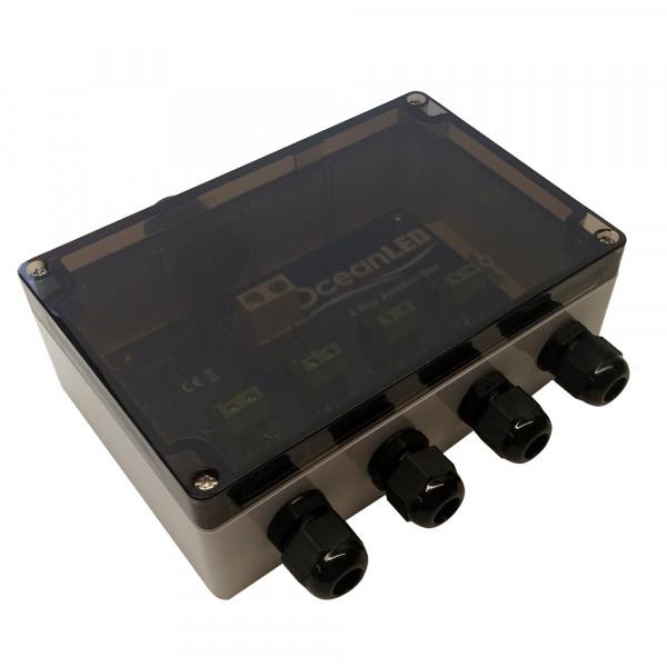 Ocean LED 4 Wege VDC Power Junction Box zur Steuerung mehrerer Unterwasserlampen