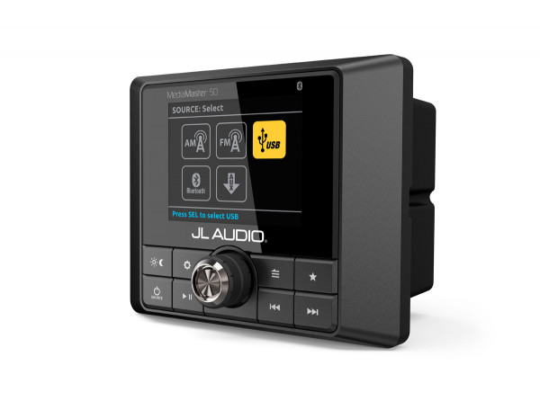 JL Audio MediaMaster 50 mit integriertem Verstärker