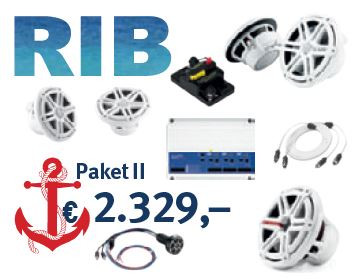 JL Audio Marine High Performance Paket II RIB