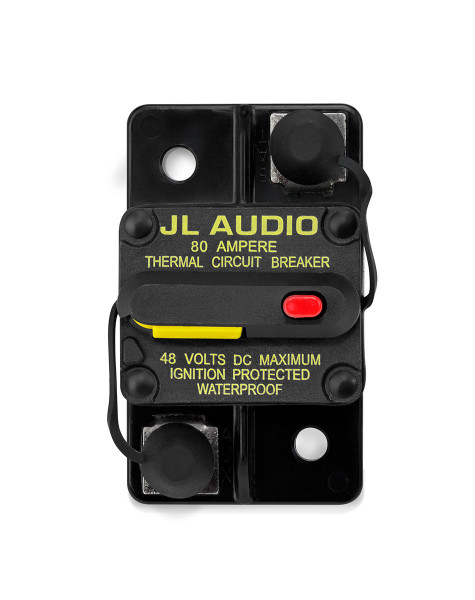 JL Audio Waterproof Circuit Breaker - 80 Amp