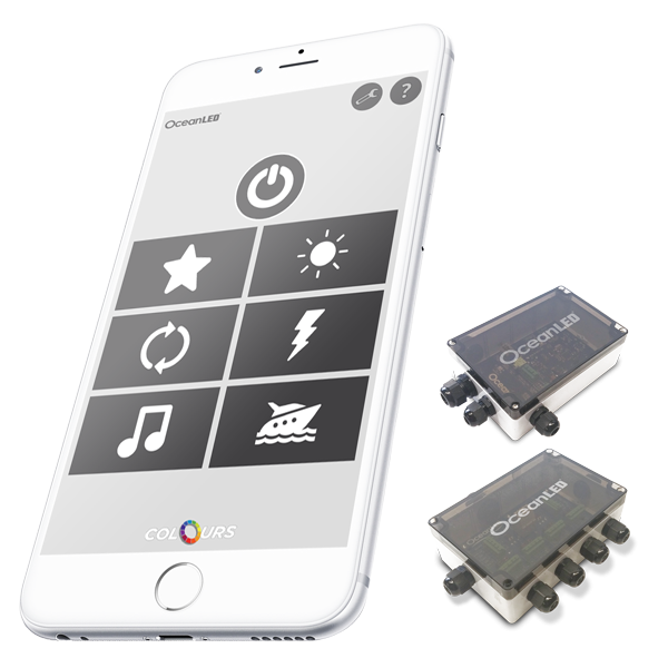 Ocean LED X Series OceanDMX APP Controller Kit (FREE App Download für iOS / Android)