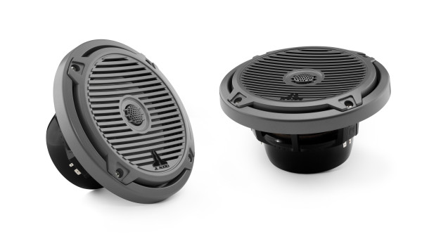 "JL Audio Marine MX 6.5"" (165 mm) Coaxial Speaker System w/ Black Classic Grills"