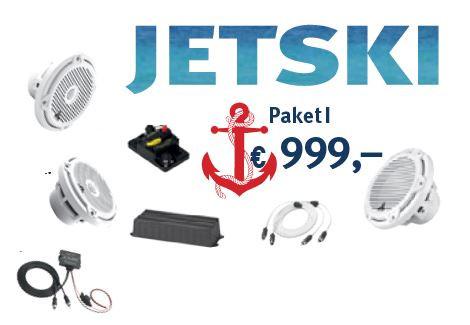 JL Audio Marine High Performance Paket I JETSKI