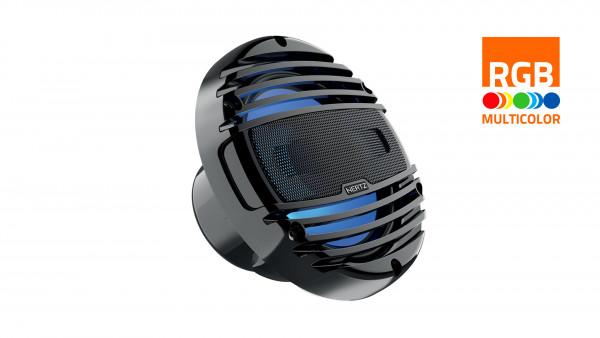"Hertz Marine Audio HMX 6.5"" RGB LED Lautsprecher Schwarz"