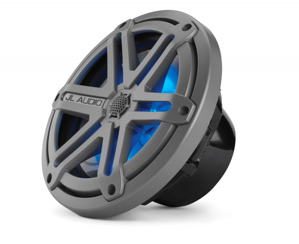 "JL Audio Marine MX Oversize 6.5"" (165 mm) Coaxial Speakers w/ LED Black Sport Grills"