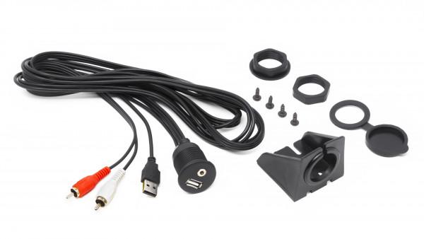 Hertz Marine Audio USB & Aux Kabel