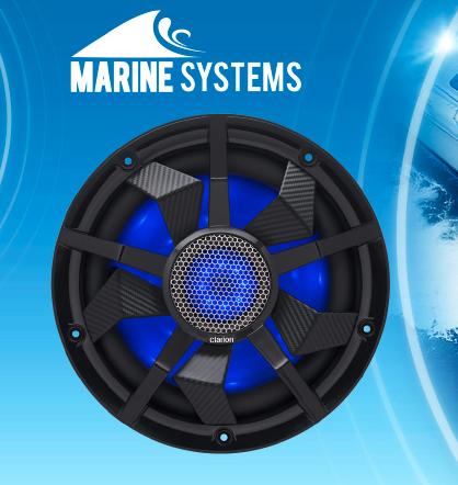 Clarion Marine CM2513WL Subwoofer